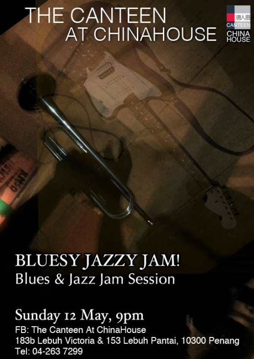 Bluesy Jazzy Jam 12 May2