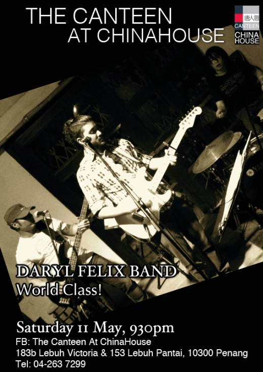 Daryl Felix Band 11 May